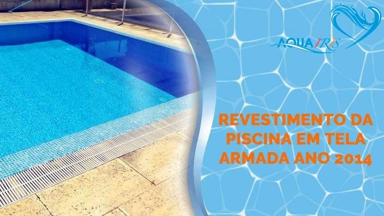 Revestimento de piscina em tela armada Linda-a-Velha