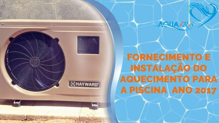 Fornecimento e Instalação do Aquecimento para a Piscina em Abuxarda