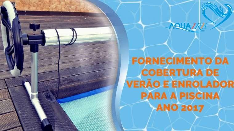 Fornecimento da Cobertura de Verão e Enrolador para a Piscina em Casal de Cambra