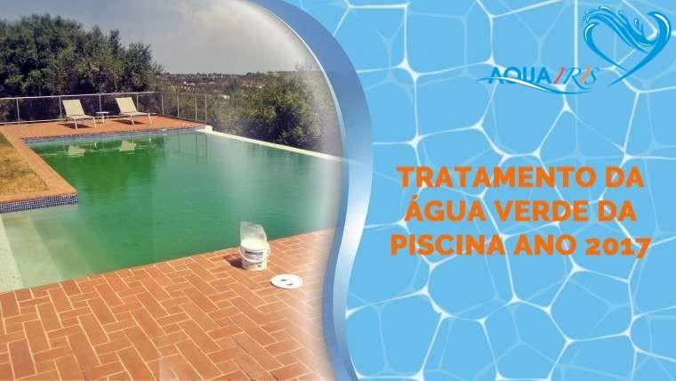 Tratamento da Água Verde da Piscina em Reguengos de Monsaraz