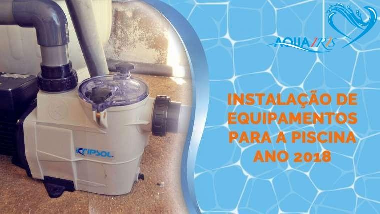 Fornecimento e Instalação da Bomba para a Piscina em Alentejo