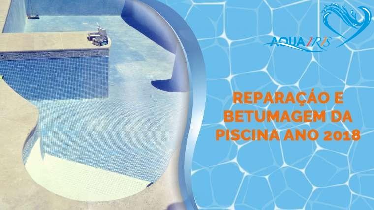 Reparação da piscina em Sesimbra