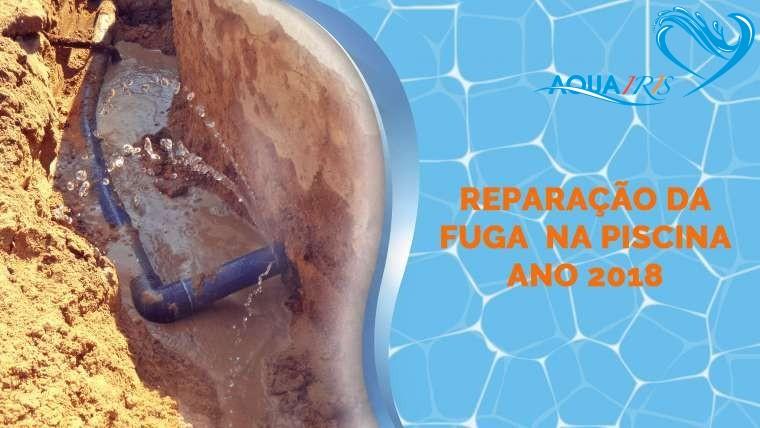 Reparação da Fuga da piscina em Porto Alto