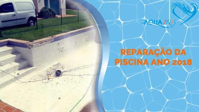Reparação da piscina em Alentejo