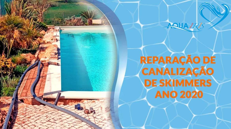 Reparação da piscina em Sobral Monte Graça