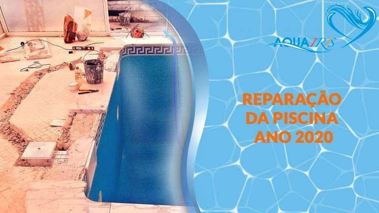 Reparação da piscina em Santa Isidoro Ericeira