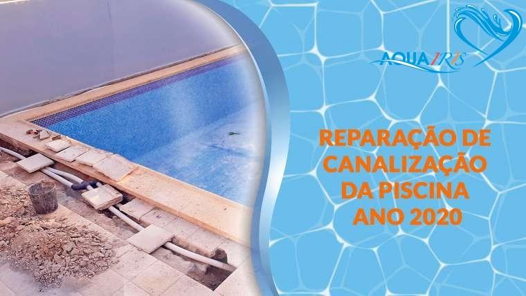 Reparação da piscina em Beloura