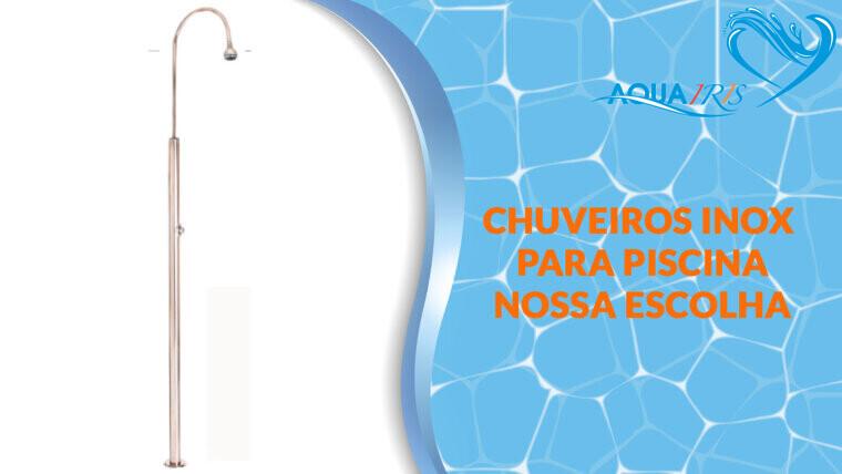 Chuveiro Standard com Fluxómetro para piscina