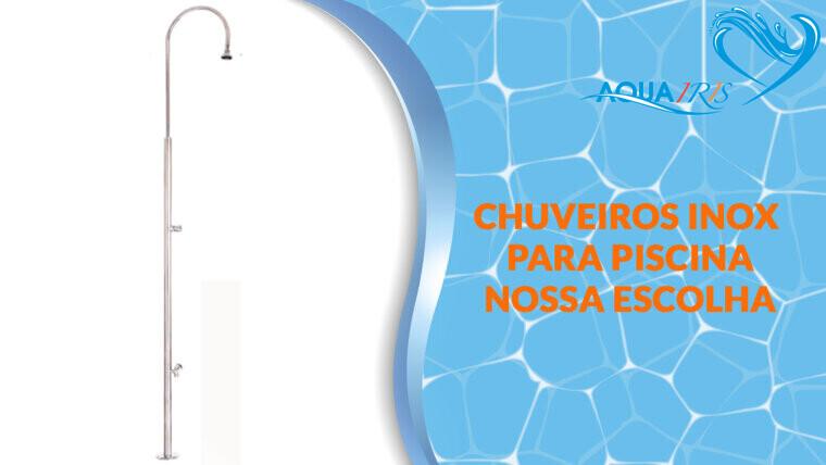 Chuveiro Standard com Lava-Pés para piscina