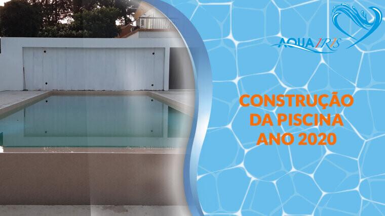 Construção da piscina