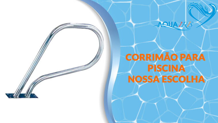 CORRIMÃO SPA para piscina