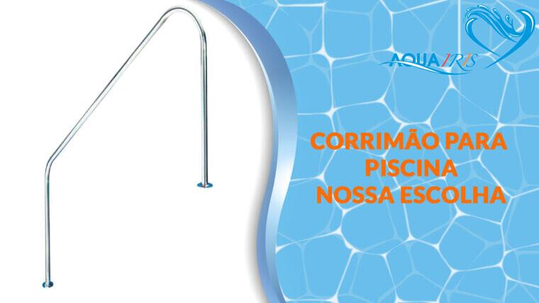 CORRIMÃO CURVA para piscina