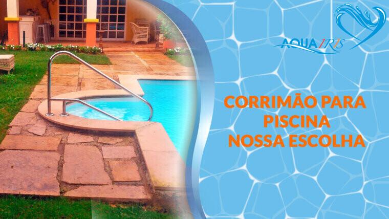 CORRIMÃO EXTERIOR para piscina