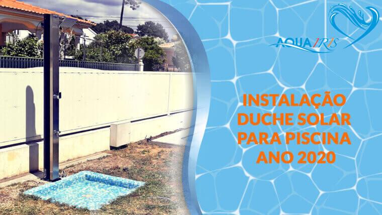 Instalaçáo duche solar Lagoa Albufeira