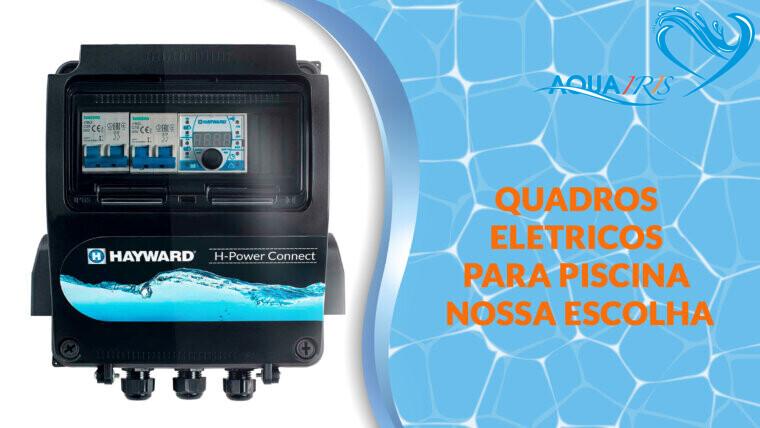 QUADRO ELÉTRICO H-POWER CONNECT para piscina