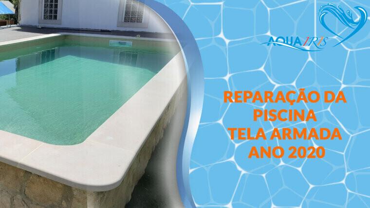 Remodelação da piscina totalmente Sobral Monte Agraço