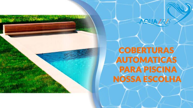 Cobertura de lâminas Modelo BANCO CLASSIC para piscina