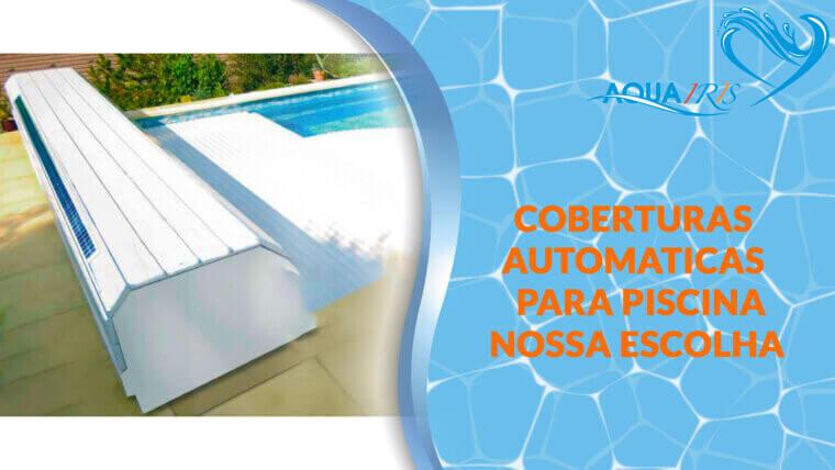 Cobertura de lâminas Modelo BANCO SOLAR para piscina