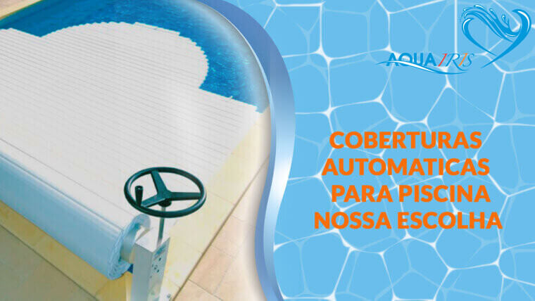 Cobertura de lâminas Modelo MANU para piscina