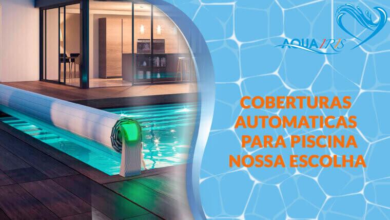 Cobertura de lâminas Modelo OPEN AERO para piscina