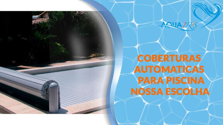 Cobertura de lâminas Modelo OPEN CLASSIC para piscina