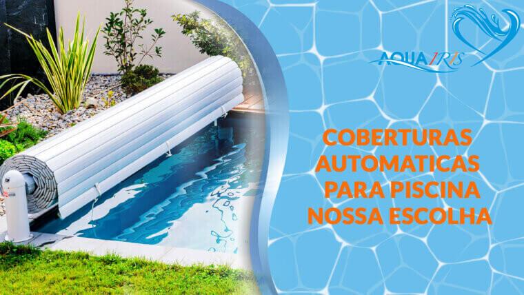 Cobertura de lâminas Modelo OPEN NEO para piscina