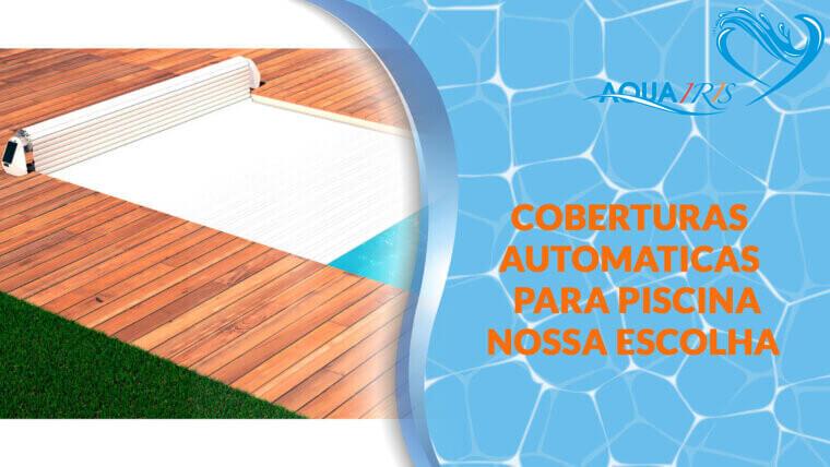 Cobertura de lâminas Modelo OPEN SOLAR para piscina